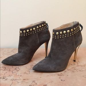 Joan & David Suede Ankle Boots